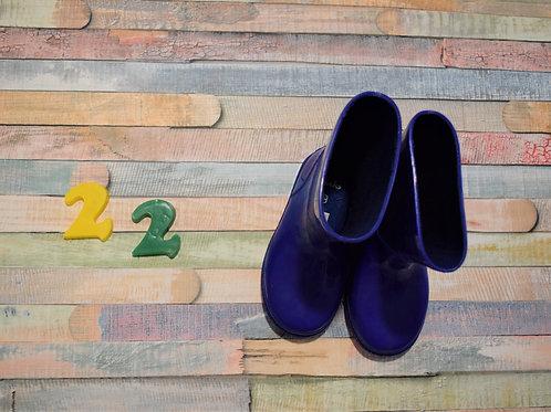 Rubber Boots Blue Size 22