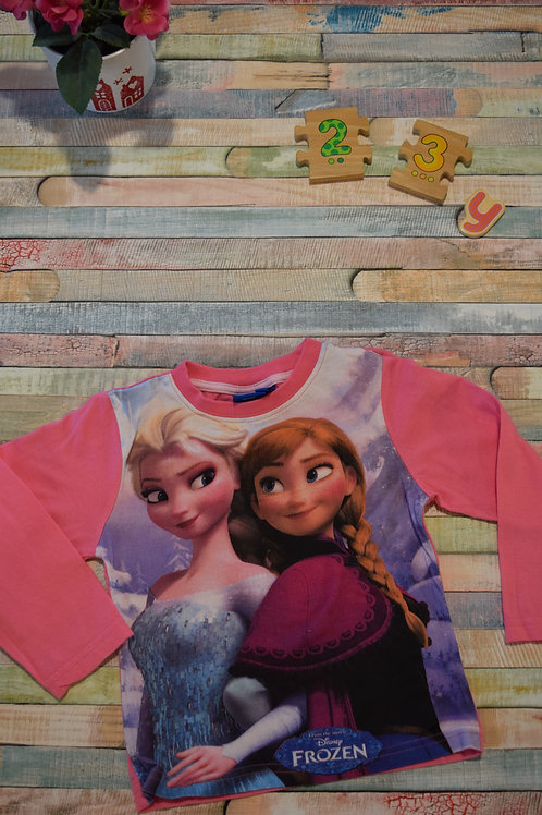 Frozen Pink Top  2-3 Years Old