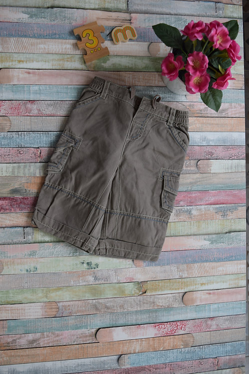 Light Brown Summer Trousers By Mini Mode