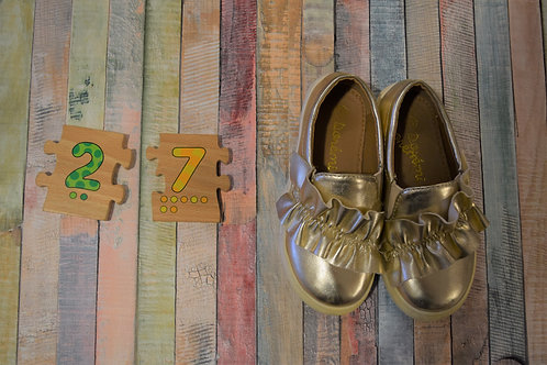 Gold Shoes Size 27