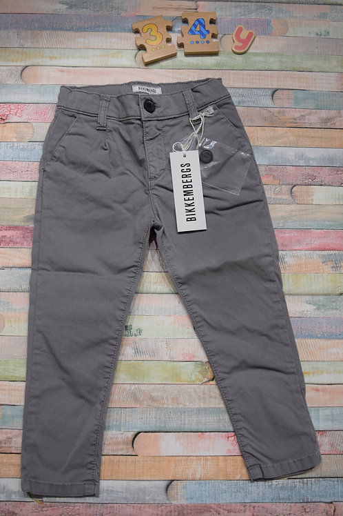 Bikkembergs Grey Summer Trousers 3-4 Years Old