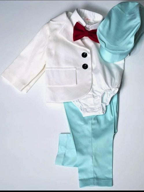 Turquoise Paul Costume Set