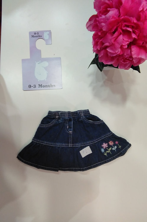 My First Jeans Skirt