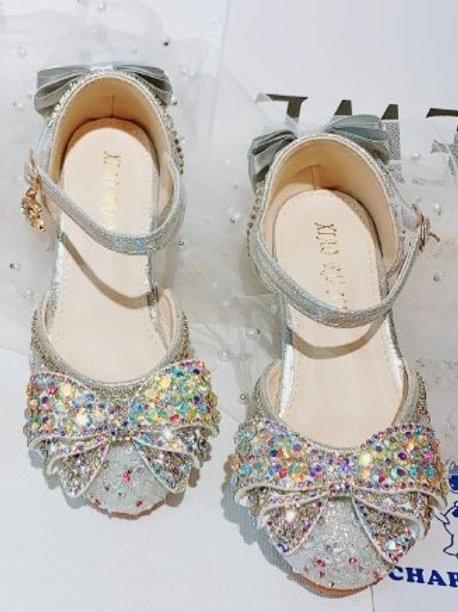 White Sparkly Princess Shoes