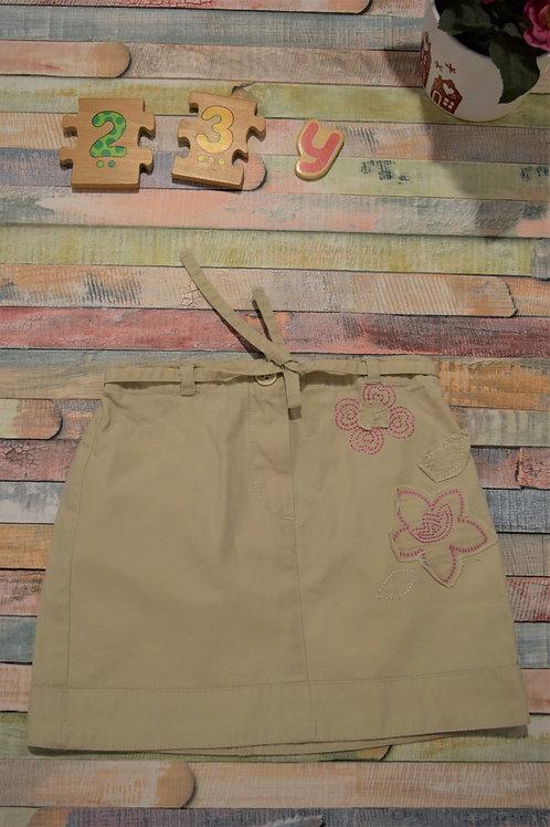 Cream Cute Skirt 2-3 Years Old