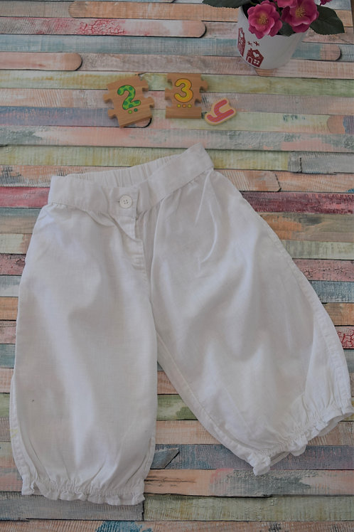 White Knee Long Trousers 2-3 Years Old
