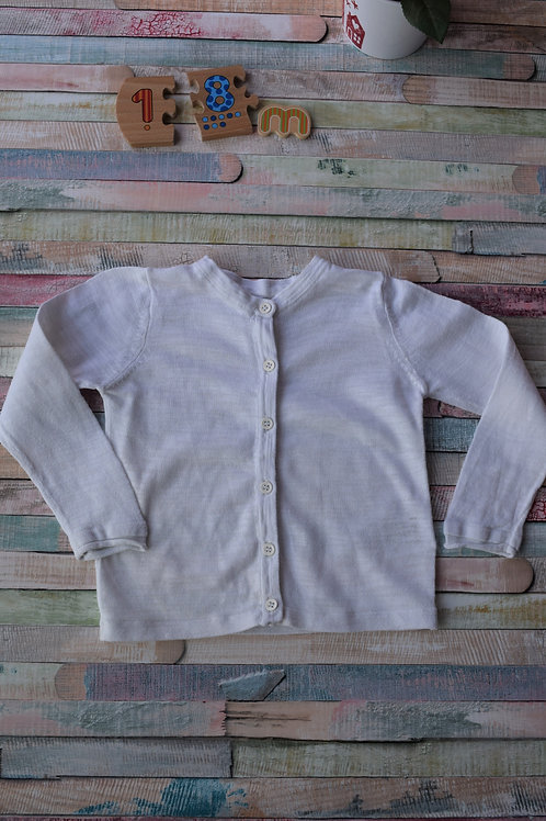White Cardigan 12-18 Months Old