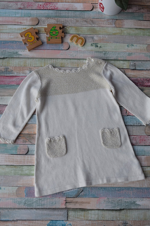 Cozy Dress 3-6 Months Old