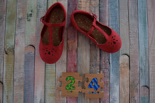Next Red Shoes Size 24