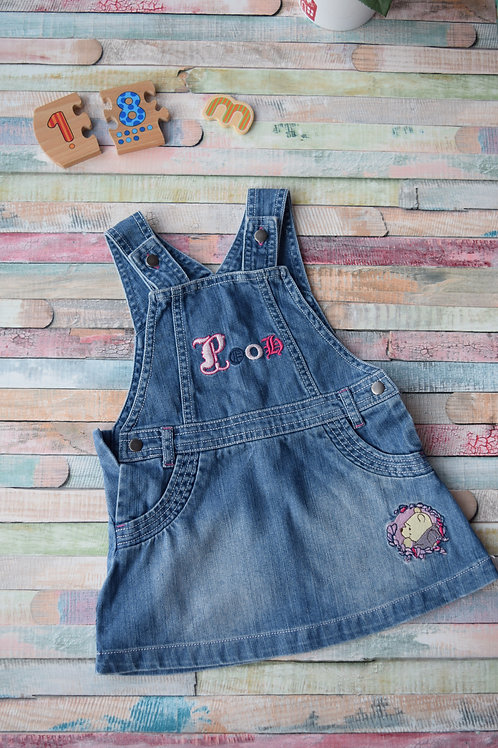 Pooh Dungaree 12-18 Months Old