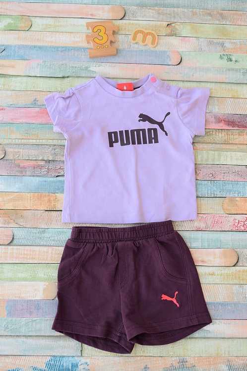 Puma Purple 0-3 Months Old Set