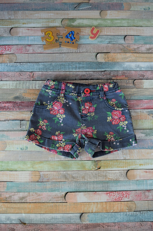 Flower Shorts Mothercare 3-4 Years Old