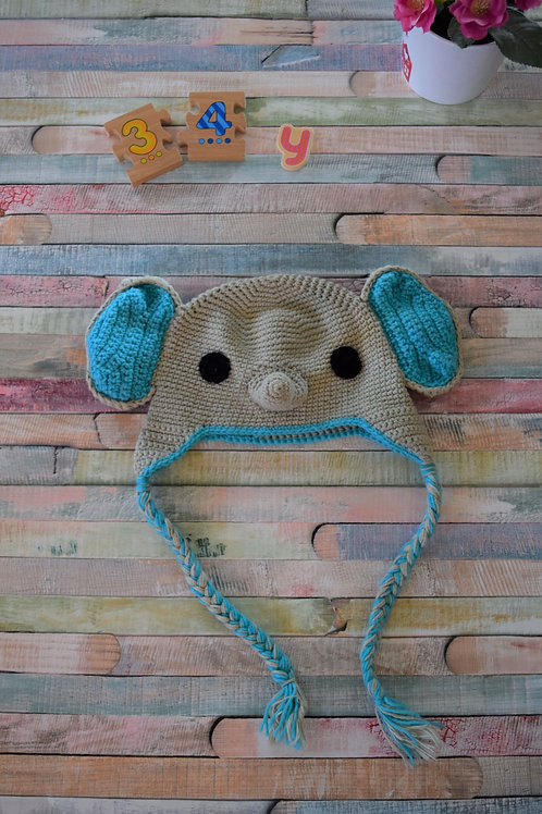 Elephant Hat 3 - 4 Years Old