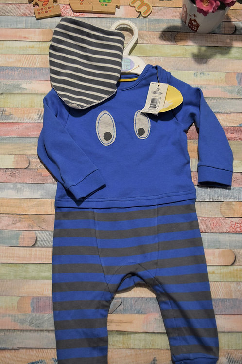 M&S Bodysuit Boys  Set 9-12 Months