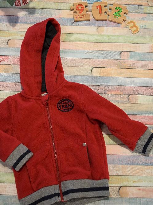 Team Red Polar Jacket 9-12 Months