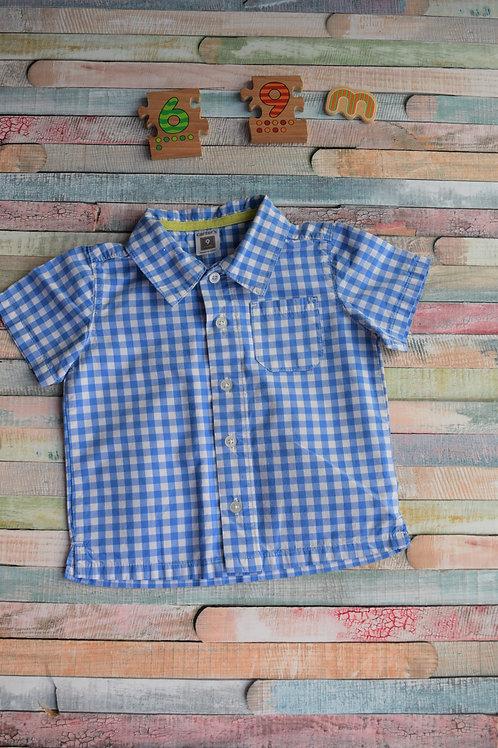 Carter's Blue Shirt 6-9 Months Old