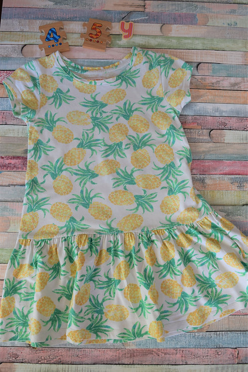 Pinapple Dress 4-5 Years Old