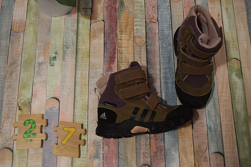 Adidas Brown Boots Size 27