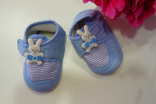 Blue Bunny Home Shoes 6-12 months