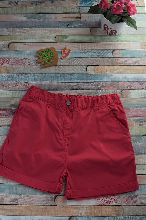 Red Cozy Shorts