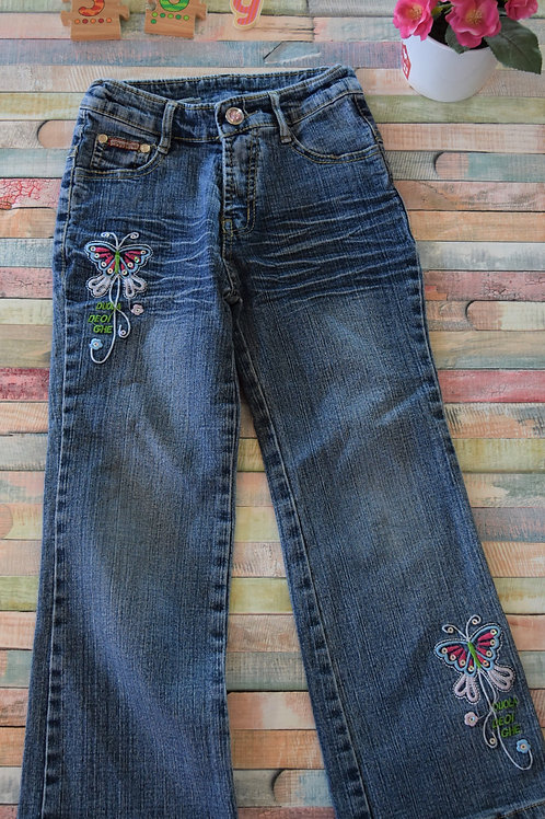 Butterfly Jeans 5-6 Years Old