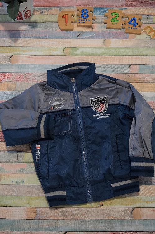 Blue Football Jacket 18-24 Months Old