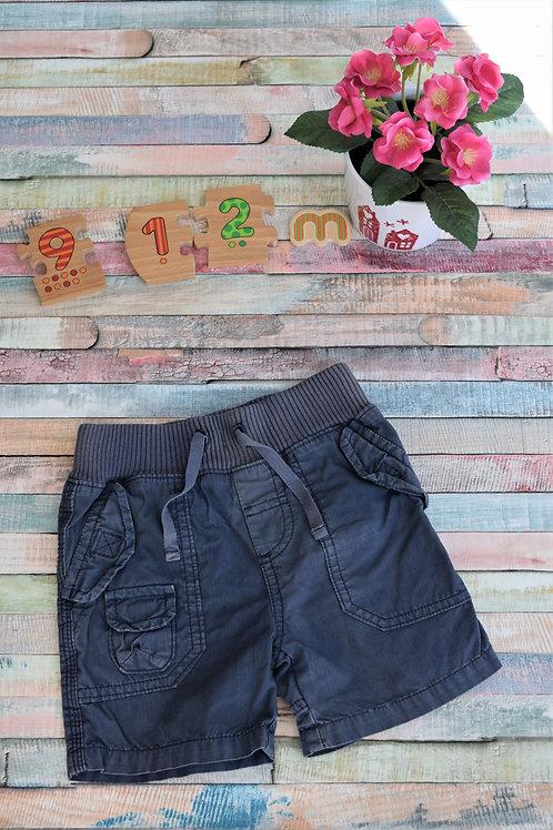 Blue Pockets Shorts