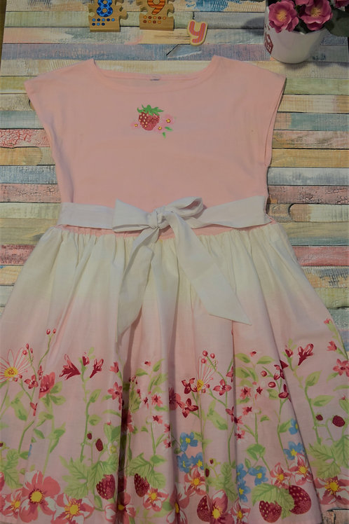 Strawberry Dress 8-9 Years Old