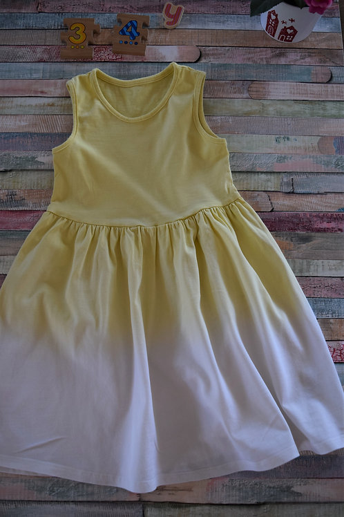 M&S Yellow Dress 3-4 Years Old