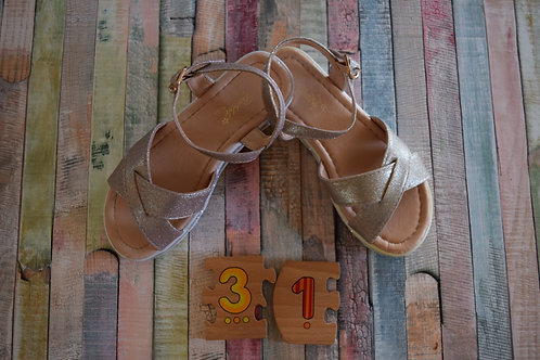 Golden Sandals Size 31