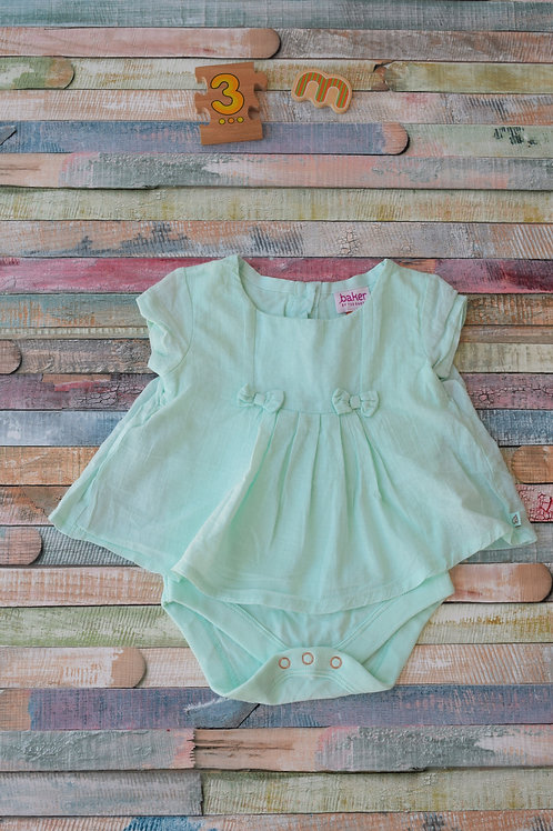 Turquoise Ted Baker Body 0-3 Months Old