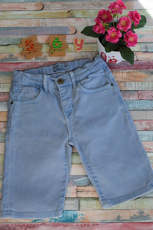 Shorts Light Blue Jeans 5-6 Years Old