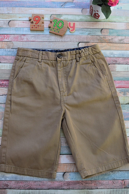 Elegant Brown Shorts For 9-10 Years Old