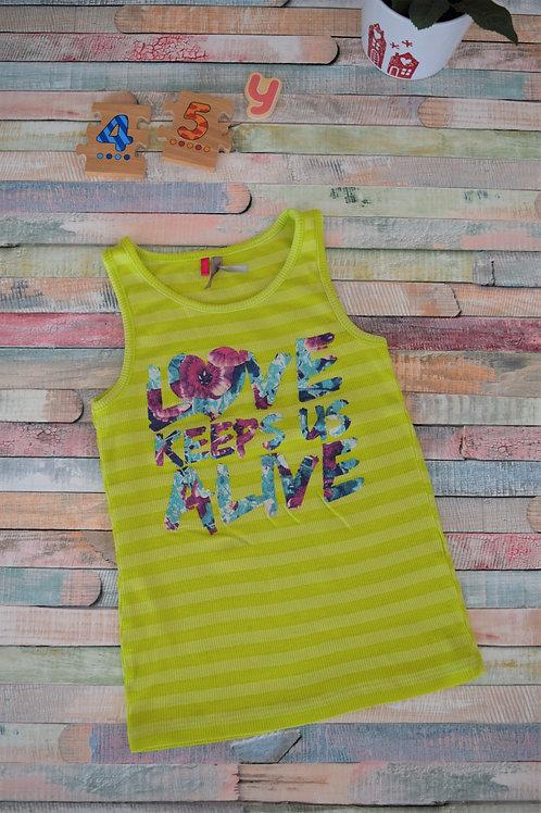 Love Keeps Us Alive Vest 4-5 Years Old