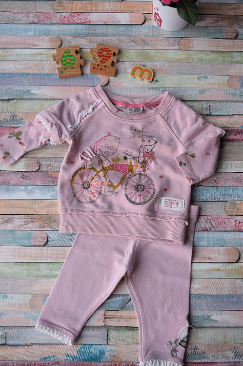 Set Top and Trousers 6-9 Months Old