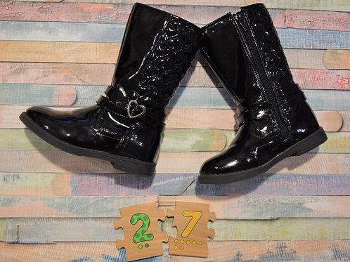 Black Boots Size 27
