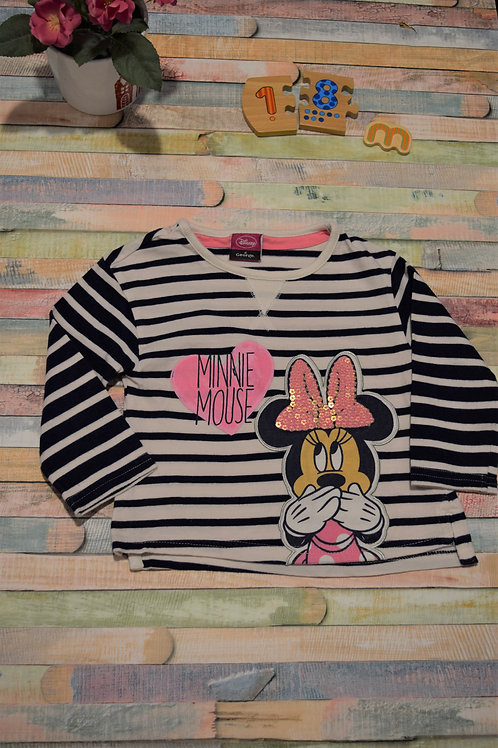 Minnie Mouse Top 12-18 Months Old