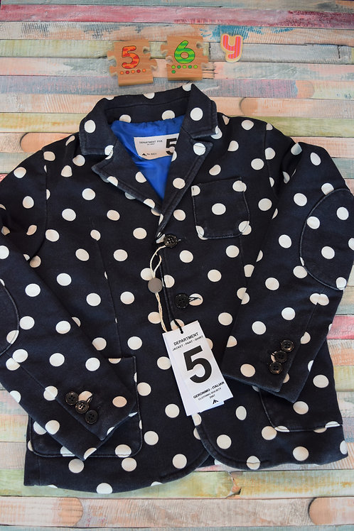 Department Five Dots Blazer 5-6 Years Old