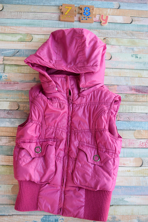 Pink Jacket with Hood 7-8 Years Old