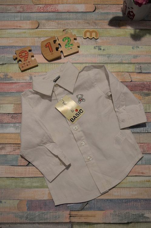 Basic White Shirt 9-12 Months
