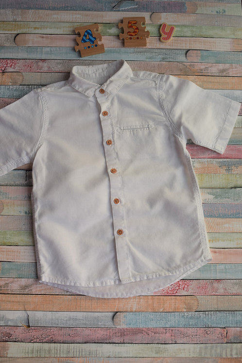 Next Short Sleeve White 4-5 Years Old