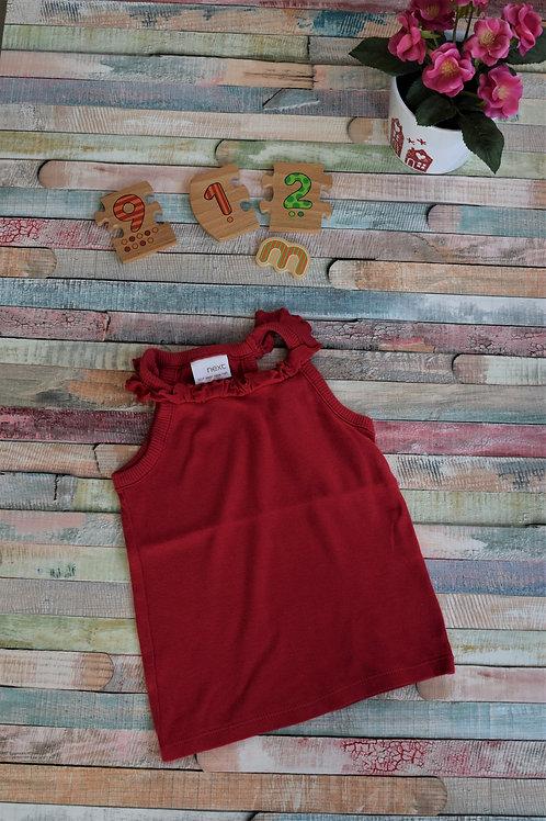 Next Red Summer Vest