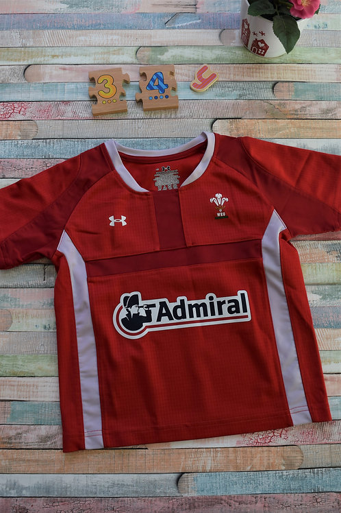 Admiral Red Football Tshirt 3-4 Years Old