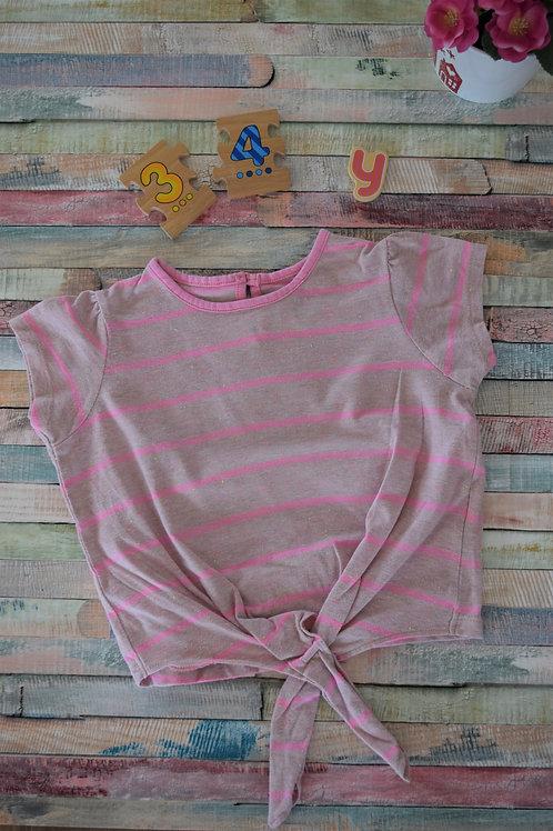 Pink Stripy Tshrt 3-4 years old