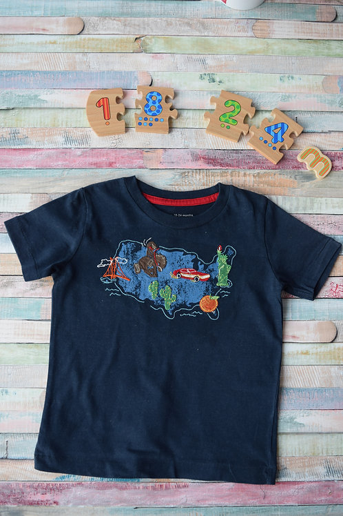 Gap Blue T-shirt 18-24 Months Old