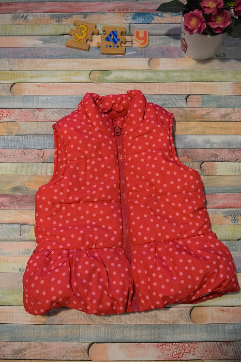 Polka Dots Red Jacket 3-4 Years Old