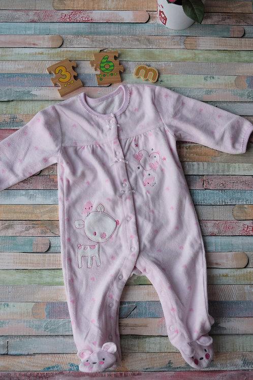 Bear Pijama  Bodysuit 3-6 Months Old