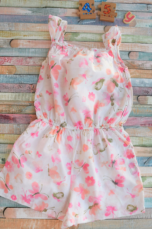 Butterfly Playsuit 4-5 Years Old