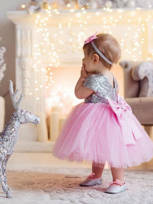 Little Pink Sparkly Dress