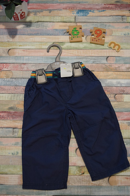 Blue Trousers Mothercare 6-9 Months